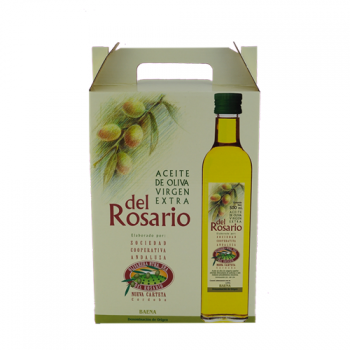 ESTUCHE DE 3 BOTELLAS 500ML DEL ROSARIO