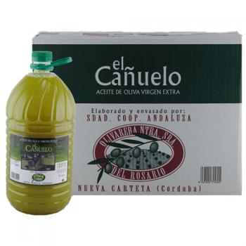 CAJA DE 3 GARRAFAS 5L EL CAÑUELO (sin filtrar)